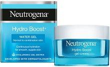 Neutrogena Hydro Boost Water Gel - Гел за лице за нормална до комбинирана кожа с хиалуронова киселина - маска