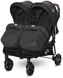 Бебешка количка за близнаци - Duo - С 4 колела -