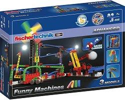 """Писта за топчета - Забавни постройки - Детски сглобяем комплект от серията """"Advanced"""" - играчка"""