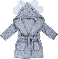 Детски халат за баня - Слонче -