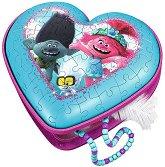 Кутия за бижута - Тролчетата на турне - детски аксесоар