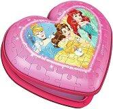 Кутия за бижута - Принцесите на Дисни - 3D пъзел -