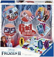 Замръзналото кралство - 6 в 1 - кукла
