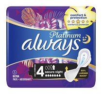 Always Platinum Ultra Secure Night - душ гел