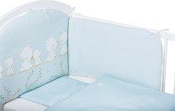 Бебешки спален комплект от 6 части - Bears -