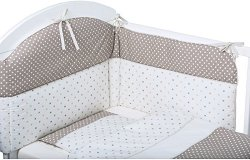 Бебешки спален комплект от 6 части - Stars -