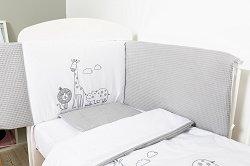 Бебешки спален комплект от 6 части - Сафари -