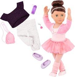 """Кукла Сидни Лий - 46 cm - В комплект с аксесоари от серията """"Our Generation"""" -"""