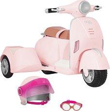 Мотоциклет с кош - играчка