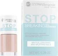 Bell HypoAllergenic Stop Breaking Nail Hardener - Заздравител за нокти - душ гел