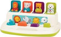 Изскачащи животни - Детска образователна играчка -