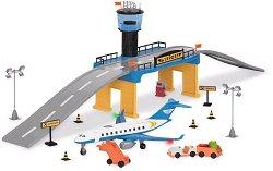 Летище - Детски комплект за игра със светлинни и звукови ефекти -