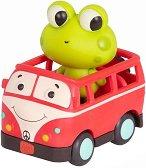"""Жабче на автобус - Комплект играчки със светлинни и звукови ефекти : От серията """"Land of B"""" -"""