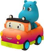 Хипопотам на количка -