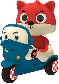 """Лисица на мотор - Комплект играчки със светлинни и звукови ефекти : От серията """"Land of B"""" -"""