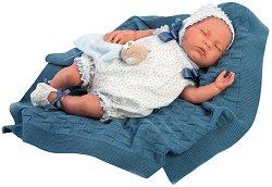"""Кукла бебе Начо - С височина 46 cm от серията """"Reborn"""" -"""