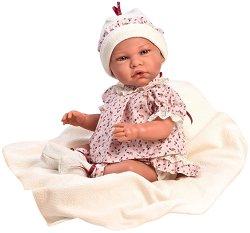"""Кукла бебе Урсула - С височина 46 cm от серията """"Reborn"""" -"""