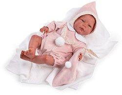 """Кукла бебе Мануела - С височина 46 cm от серията """"Reborn"""" -"""