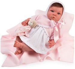 """Кукла бебе Патрисия - С височина 46 cm от серията """"Reborn"""" -"""