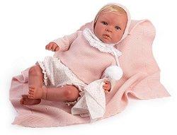 """Кукла бебе Вера - С височина 46 cm от серията """"Reborn"""" -"""