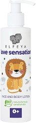 Elfeya Cosmetics Love Sensation Face & Body Lotion - Бебешки лосион за лице и тяло - шампоан