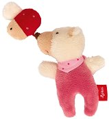 """Мече с бръмбарче - Мека бебешка играчка от серията """"Red Stars"""" -"""