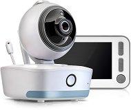Дигитален видео бебефон -  BabyCam XL - С температурен датчик, мелодии, нощно виждане и интерком функция -