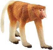 """Дългоноса маймуна - Фигурка от серията """"Светът на дивите животни"""" -"""