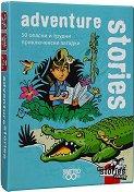 Black Stories Junior: Adventure Stories -