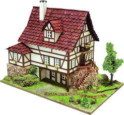 Къща - Freiburg - Детски сглобяем модел от истински тухлички -