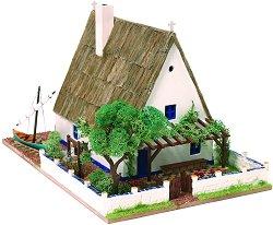 Рибарска къща - Albufera - Детски сглобяем модел от истински тухлички -