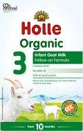 Преходно био козе мляко - Holle Organic Goat Milk Formula 3 -