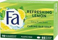 Fa Refreshing Lemon Bar Soap  - Сапун със свеж аромат - крем