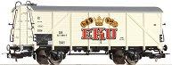 Хладилен вагон - EKU DB - ЖП модел - макет