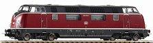 Дизелов локомотив - BR 220 - ЖП модел - макет