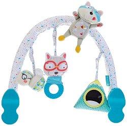 Универсална арка с висящи играчки - Животни -