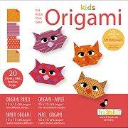 Оригми - Котки - Творчески комплект -