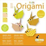 Оригами - Зайчета - Творчески комплект -