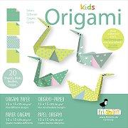 Оригами - Лебеди - Творчески комплект -