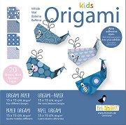 Оригами - Китове - Творчески комплект -