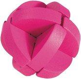 """Розова магента - 3D пъзел от серията """"IQ тест"""" -"""
