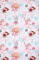 Детска памучна кърпа - Балерини -