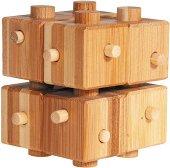 """Куб с пръчки - 3D пъзел от серията """"IQ тест"""" -"""