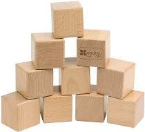 Дървени кубчета -