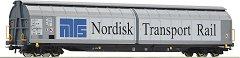 Tоварни вагони с плъзгащи се стени - NTR - ЖП модели - комплект от 2 броя -