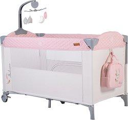 Сгъваемо бебешко легло на две нива - Indiana -