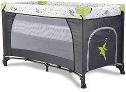 Сгъваемо бебешко легло на две нива - Star Duo -