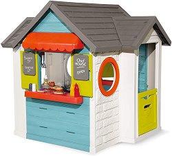 Сглобяема къща с кухня за игра - Chef House - В комплект с аксесоари - детски аксесоар