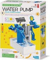 Направи си сам - Водна помпа с хибридно соларно задвижване - играчка