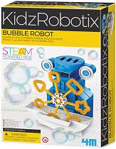 Направи си сам - Робот за сапунени мехури - образователен комплект